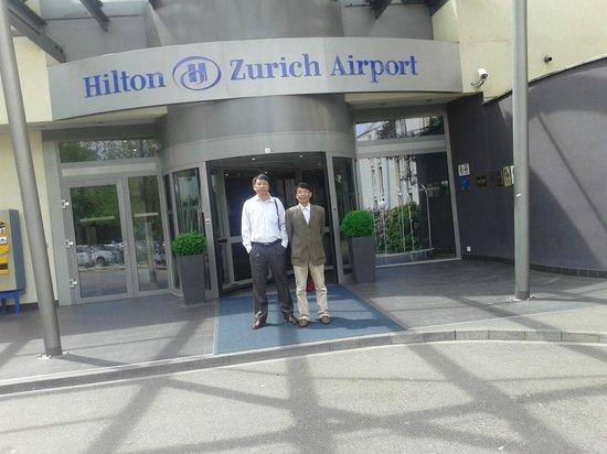 Hilton Zürich Airport: Entrance