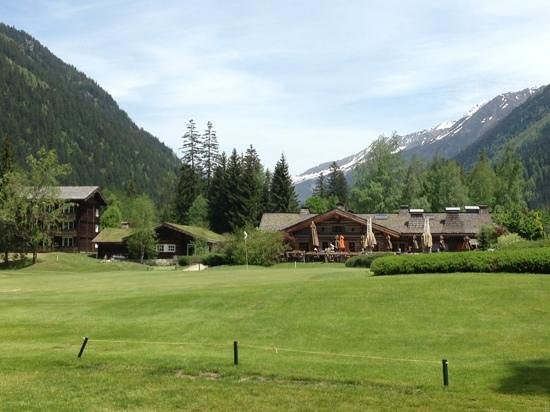 Hotel Les Lanchers: chamonix golf course - restaurant