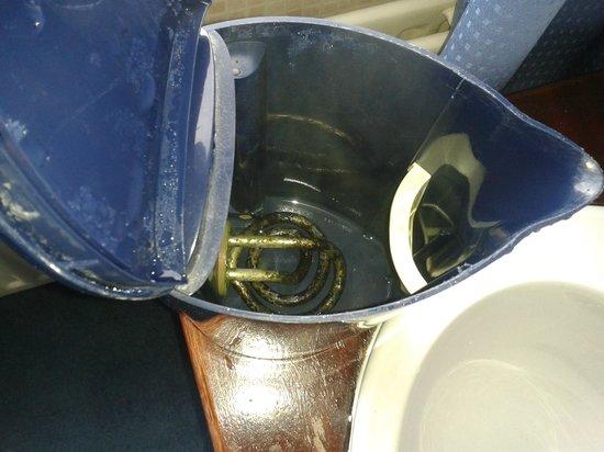 The Edwardian: Black/green in kettle