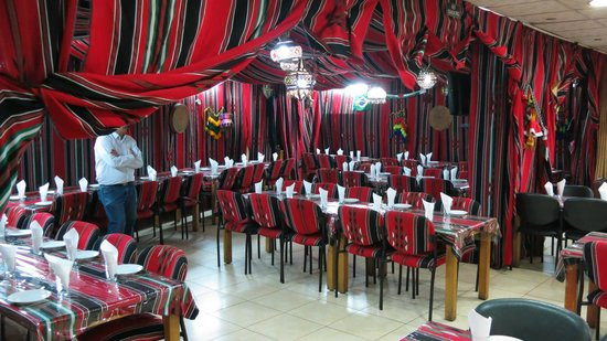 Guided Tours Israel - Day Tours: Sababa Tent Restaurant for lunch in Bethlehem