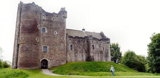 Doune Castle: Front Aspect