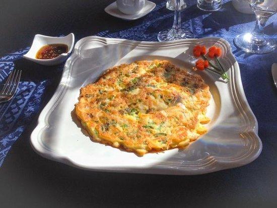 Courthouse Inn Revelstoke: Korean Pancake -- my breakfast choice