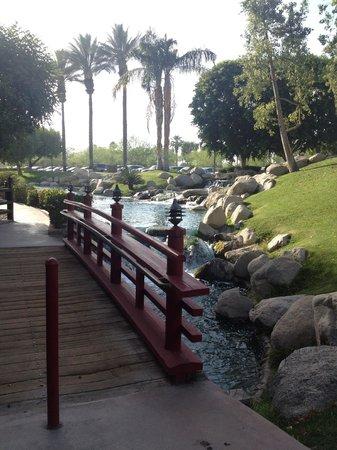JW Marriott Desert Springs Resort & Spa: Entrance to the Japanese restaurant