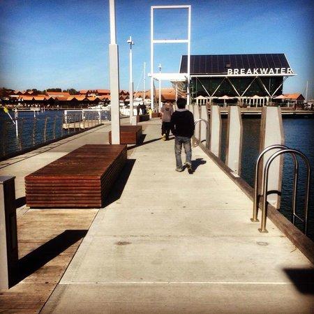 Sorrento Quay Boardwalk: Nice place to stroll