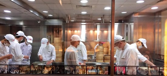 Din Tai Fung (Nanjing West Road): Hand made for your pleasure.