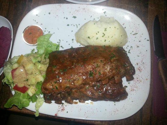 Meet Argentinian Steak House: ribs !!