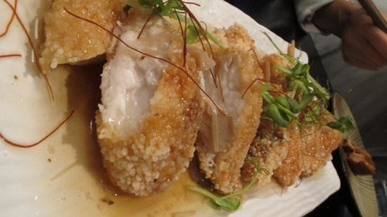 Mikis Open Kitchen: fresh snapper but overcooked
