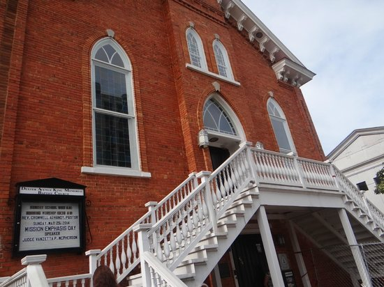 Dexter Avenue King Memorial Baptist Church: martin luther's church