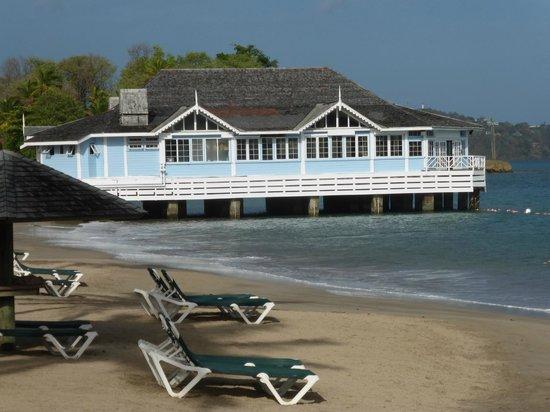Sandals Halcyon Beach Resort: Kellys dockdide