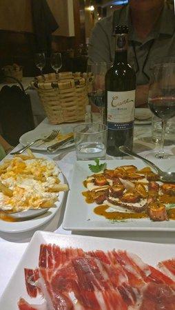 Casa Lucio : Like A Culinary Tour of Madrid