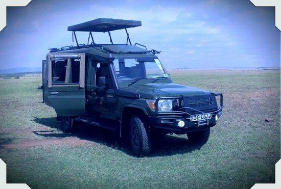 Sand River Masai Mara: jipe utilizado pelo Sand River lodge