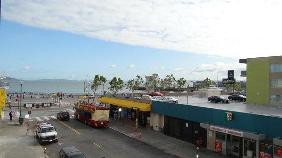 The Wharf Inn : View from room 316 towards the wharf