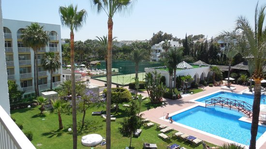 Melia Marbella Banus: View west facing room floor 4