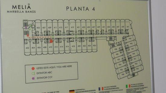 Melia Marbella Banus: Floorplan