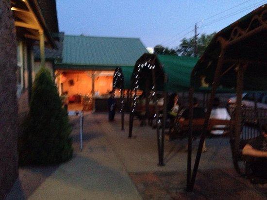 بافالو بوينتى إن: Opening night of Allykat Cafe at Buffalo Pointe Lodge , June 5, 2014.  We were so glad to be apa