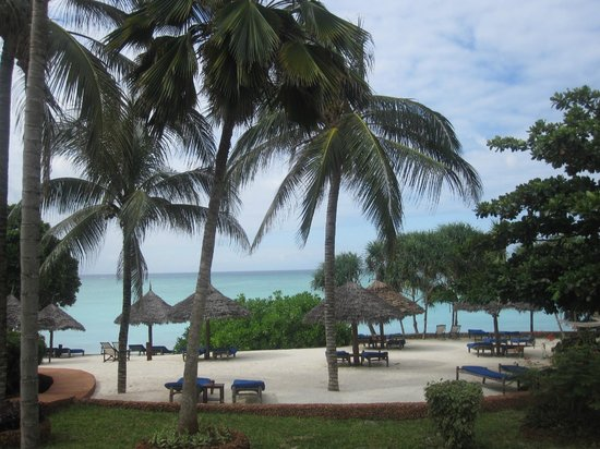 Ras Nungwi Beach Hotel: View from my room