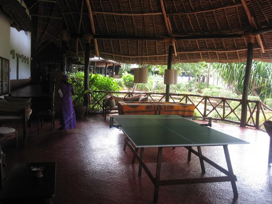 Ras Nungwi Beach Hotel: Game area