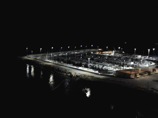Bellevue et Mediterranee: the view at night