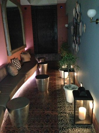 Adria Boutique Hotel: Relaxation area under the stars