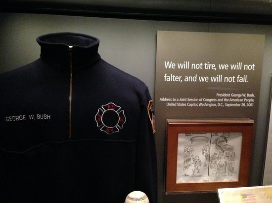 The George W. Bush Presidential Library and Museum: George W Bush Library - 9/11 Exhibit