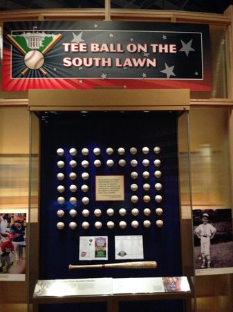 The George W. Bush Presidential Library and Museum: George W Bush Library - Baseball Exhibit