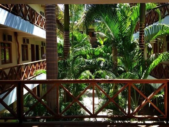 Casa Andina Classic Nasca : Parte interna do Hotel. Quartos voltados para Jardim a céu aberto.