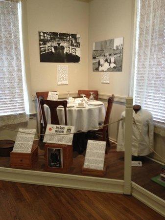 Temple Railroad & Heritage Museum: Temple Railroad Museum - Harvey House exhibit on 2nd floor
