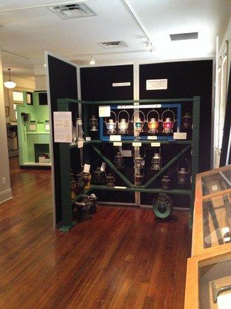 Temple Railroad & Heritage Museum: Temple Railroad Museum - light exhibit