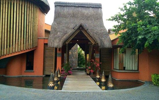 Tamarina Golf & Spa Boutique Hotel : Entrée de l'hôtel