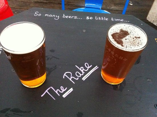 The Rake : One of the best pubs in London
