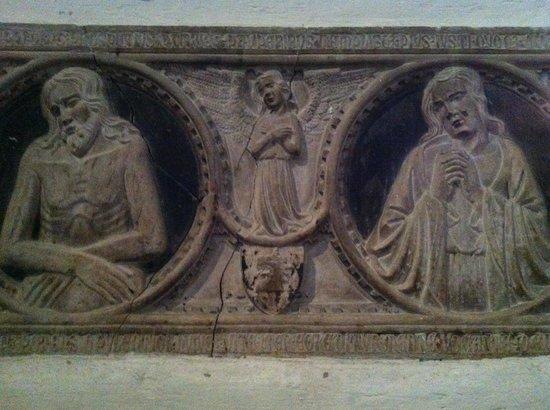Chiesa di San Domenico Maggiore: San Domenico Maggiore, rilievo dell'interno