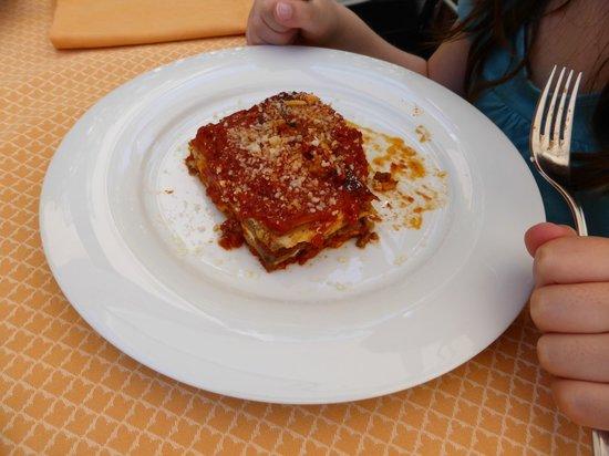 Hotel La Pergola Restaurant: lasagne