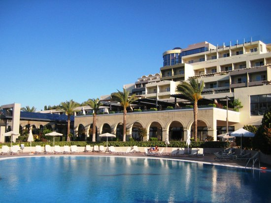 Kipriotis Panorama Hotel & Suites: Außenansicht des Hotels