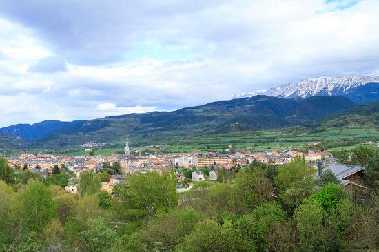 El Castell de Ciutat : seu durgell from balcony
