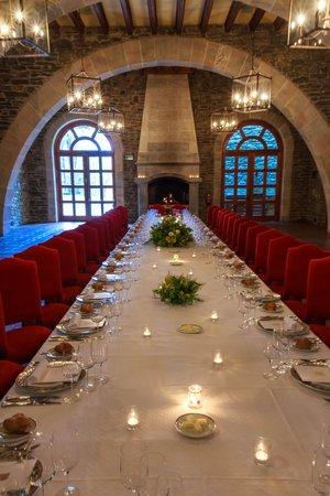 El Castell de Ciutat : dinner in the castle