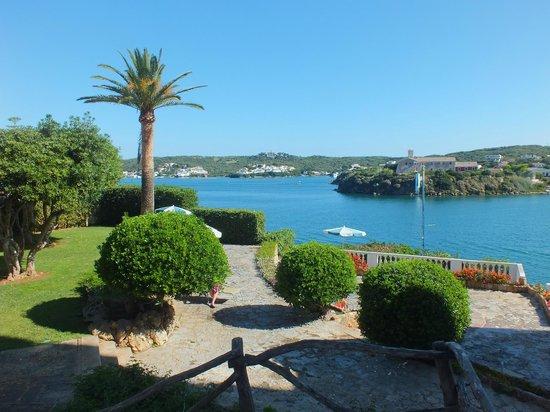 Hotel Agamenon: View from hotel towards Mahon