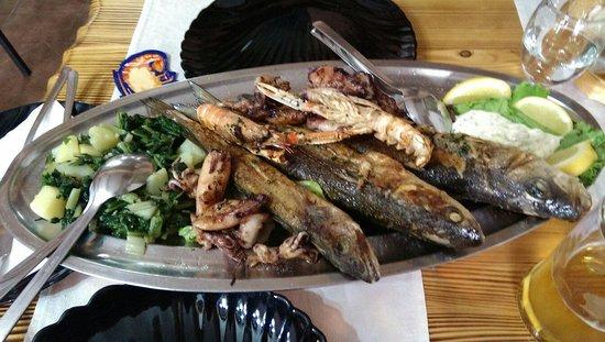 Konoba Lavlji Dvor: Pesce freschissimo dal mare alla cucina