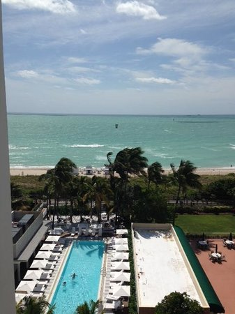 COMO Metropolitan Miami Beach: Room with a view