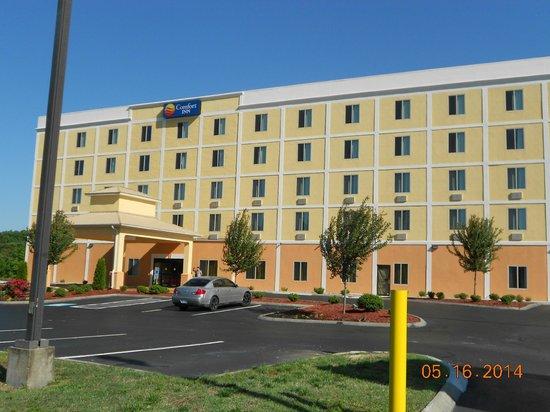 Comfort Inn Thomasville: Hotel front