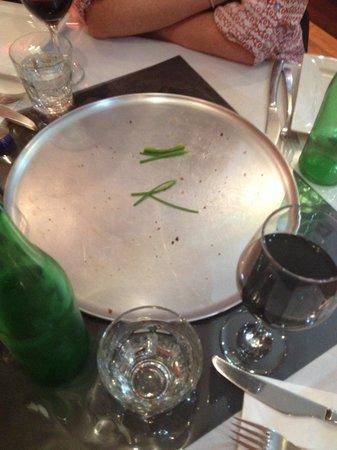 Bella Tiarnie Italian Restaurant & Gourmet Pizzas: That WAS garlic pizza !!! Amazing ..