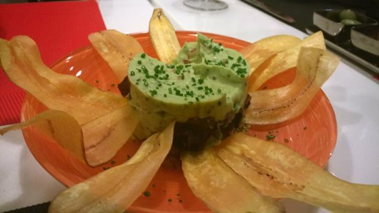 Gastromaquia : Guacamole with Plantains