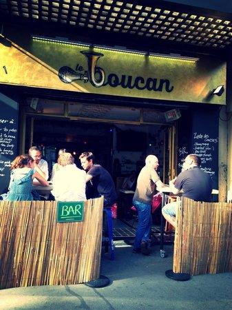 Le Boucan : Terrasse
