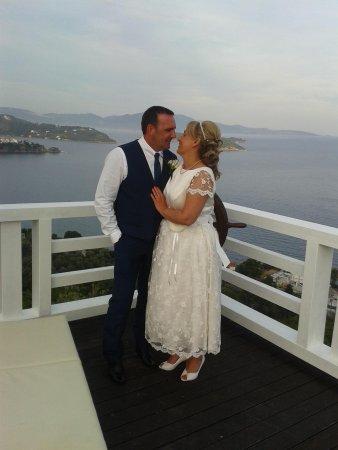 Kivo Art & Gourmet Hotel: Our Wedding Day