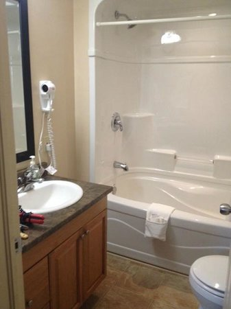 Royal Inn + Suites: Bathroom