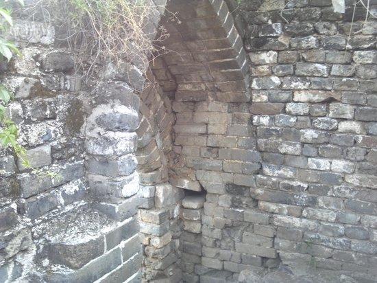 Qingshan Pass Great Wall: 長城の石組み