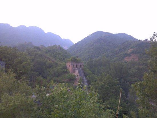 Qingshan Pass Great Wall: 長城と俯瞰