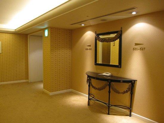 Namba Oriental Hotel: corridor