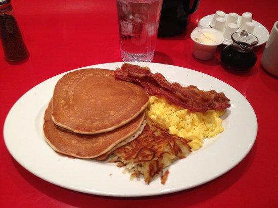 America at New York New York: Breakfast