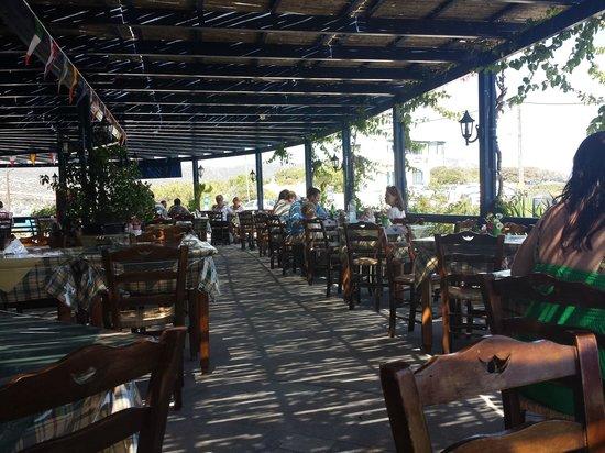 Calypso Restaurant: Pergolato