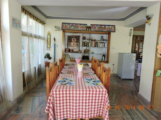 Hotel Samdupling Alchi: Dining room